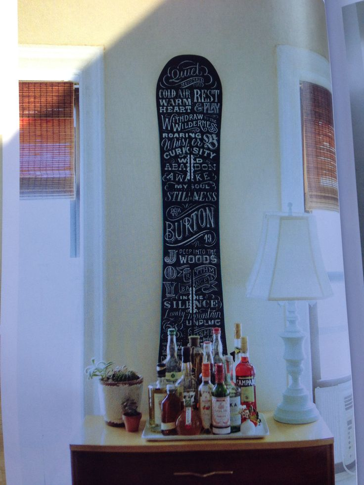 Burton's Deja Vu Flying V Snowboard (one of the most beautiful snowboards I've ever seen)