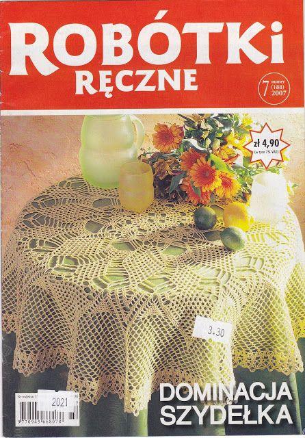 Robotki reczne 2007, nr 7(serveteles) - Rasa Jonikaite - Picasa Web Albums
