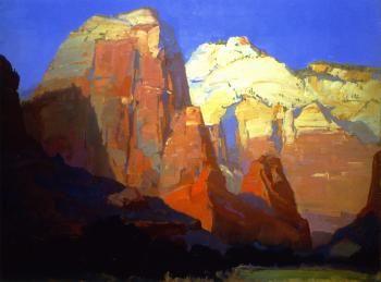 Pinnacle Rock, Utah - Franz Bischoff