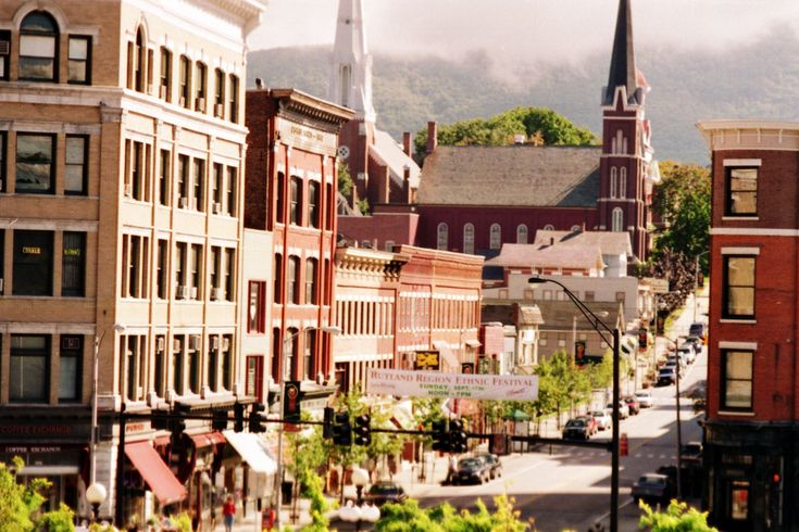 Historic District Rutland Vermont Favorite Places Es Pinterest Vacation And Canada Trip