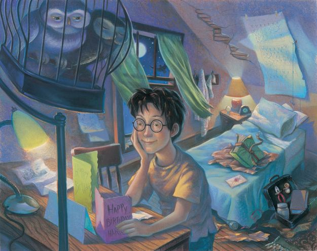 """""""Counting the Days""""...Rare """"Harry Potter"""" Illustrations From The Books' Artist...Book 3"""