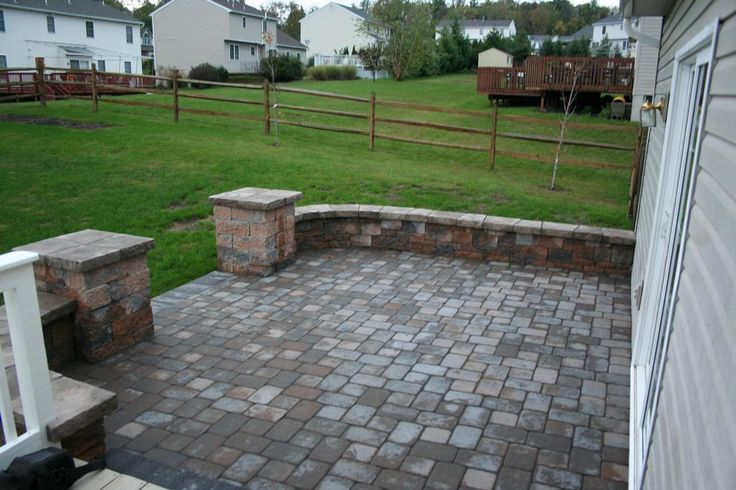 Ep Henry Old Towne Cobble Paver Patio From Willow Gates