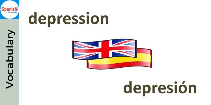 #Spanish cognates: DEPRESIÓN. Can you use it in a sentence?