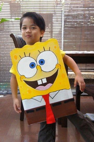 Maschera da Spongebob