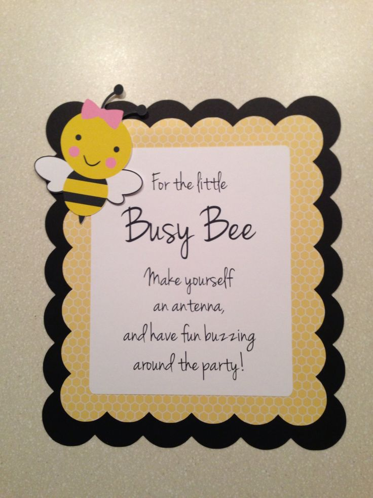 43 Best Busy Bee Party Images On Pinterest