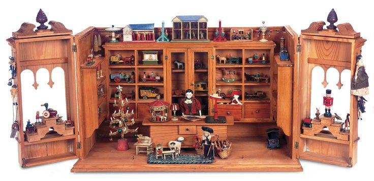 Echoes of Remembered Rooms - Volume II: 796 Outstanding German Wooden Well-Laden Toy Shop