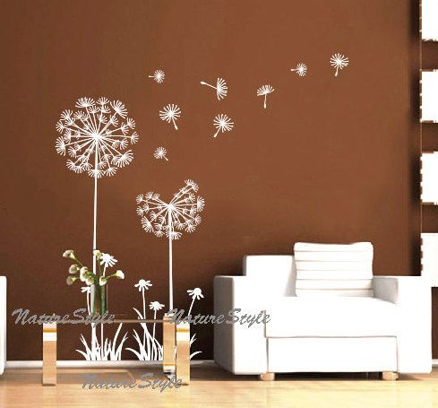 wall decal wall decal nursery flower vinyl wall by NatureStyle, $33.00