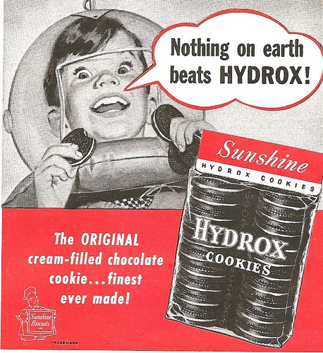 Hydrox cookies by Sunshine