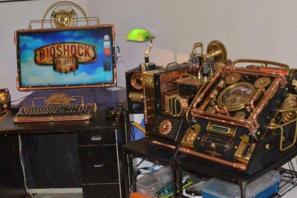 A Very Impressive Steampunk PC Mod