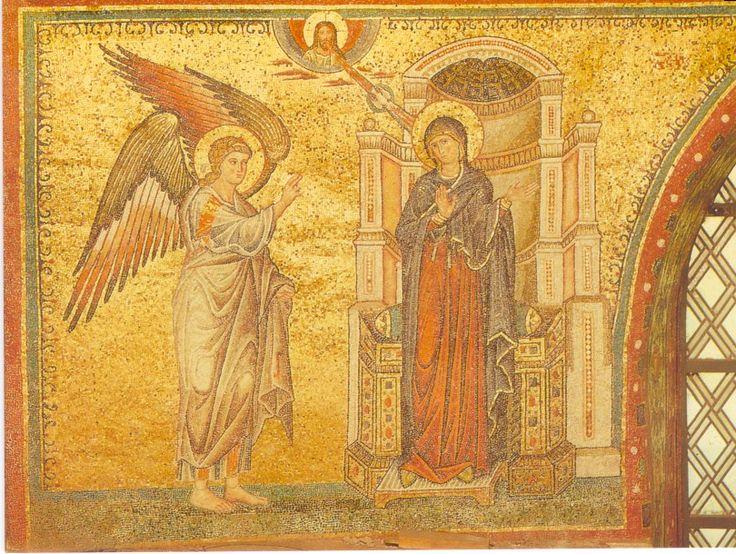 STA_MARIA_MAGGIORE-Annunciation-Mosaic | ANNUNCIATION ...