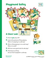 Playground Safety School Counseling Poster Freebie