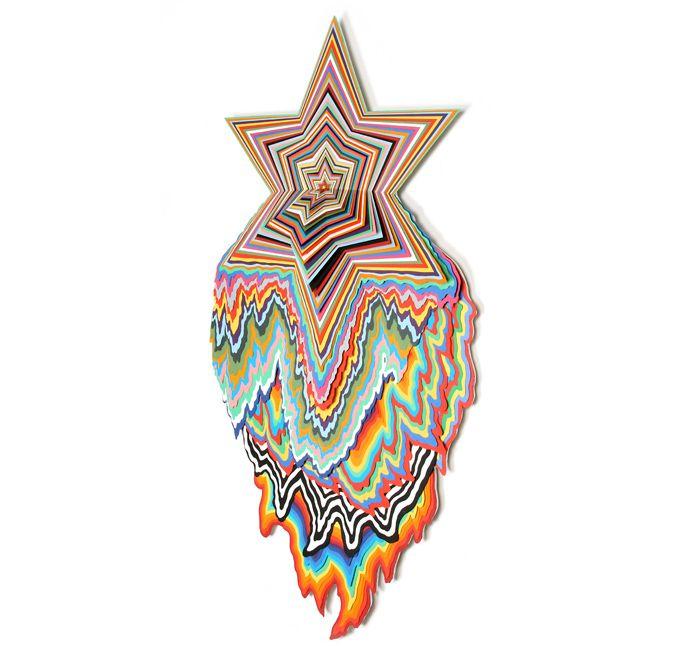 Best Jen Stark Images On Pinterest Paper Art Sculptures And - Mesmerising hand crafted paper sculptures jen stark