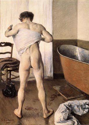 Caillebotte-homme au bain ______________________________ ♥♥♥ deniseweb.free.fr ♥♥♥