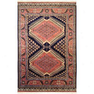 Surya Adana Coral Hand-knotted Wool RugManufacturer: Surya SKU: 3078539084 8ft X 11ft, 9ft X 13ft