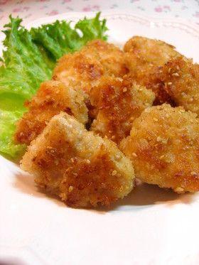✿鶏肉のにんにく醤油ごまパン粉焼き✿ by annnnn [クックパッド] 簡単おいしいみんなのレシピが252万品