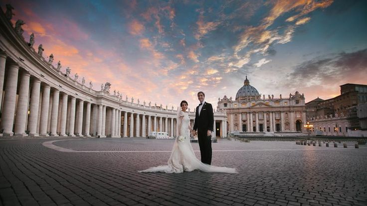 Your Wedding in Rome -sunset