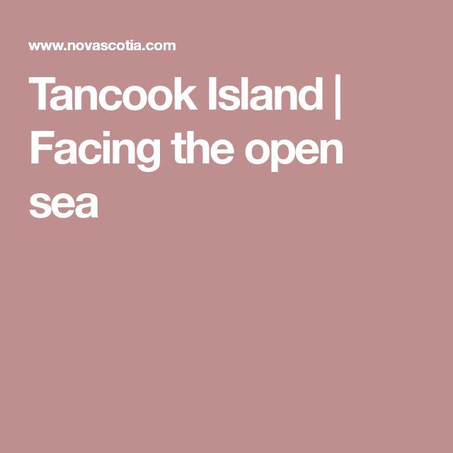 Tancook Island | Facing the open sea