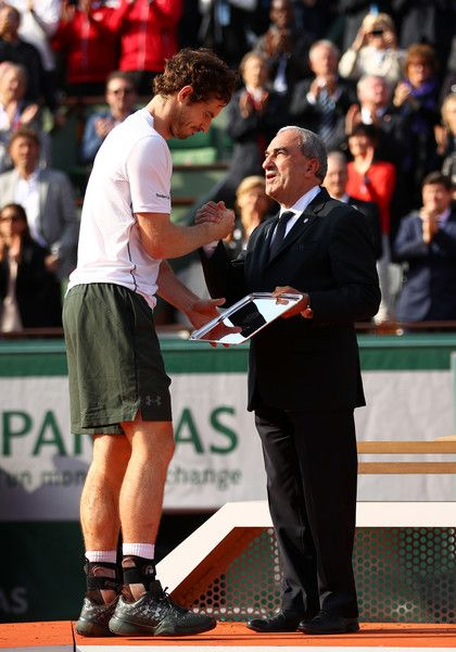 Andy Murray Pictures - 2016 French Open - Day Fifteen - Zimbio