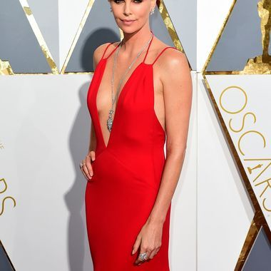 Charlize Theron at 88th Annual Academy Awards in Hollywood