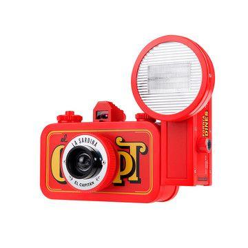 La Sardina El Capitan Camera / Lomography: Sardina Camera, Awesome Camera, Sardina El, Capitan Camera, Lomographi Camera, Sardine, Awesome Things, Captain, Chamber
