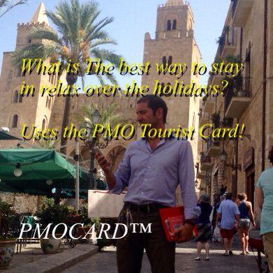 Travelling to Palermo? Get us a Peek... www.pmocard.it