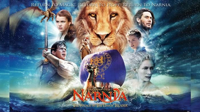 Sinopsis Film The Chronicles of Narnia 3 - Angkat Jangkar! Pelayaran Baru Akan Dimulai Malam Ini