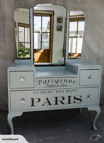 DRESSING TABLE - FRENCH CHIC | Trade Me