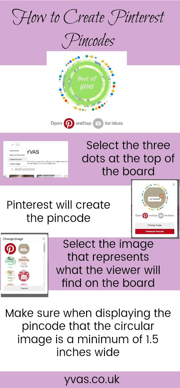How to Create Pinterest Pincodes #pinterest #pinteresttips #pinterestmarketing #pinterestpincodes