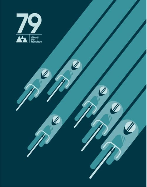 79 Giro di San Francisco Poster