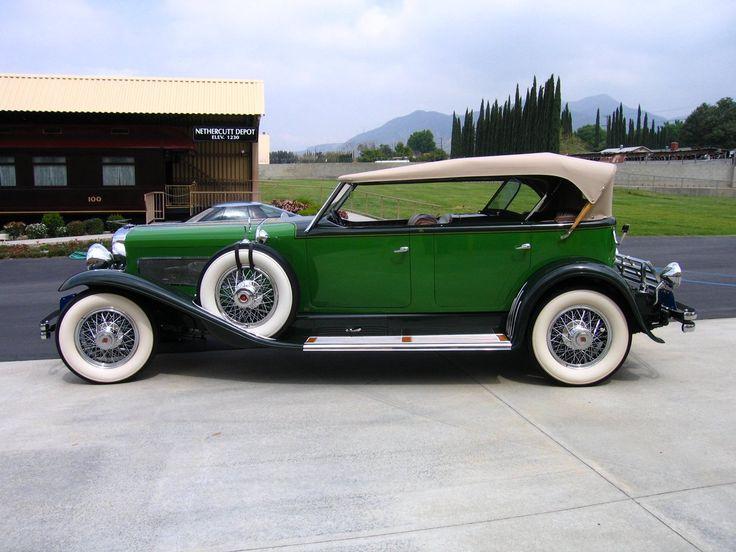 1934 Duesenberg Model J Dual Cowl Phaeton By Murphy