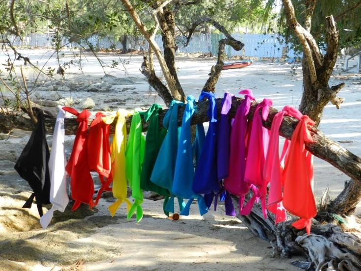Bikini, Summer, Beach, Fashion, Girls  Peaches Bikini Colours Solid -
