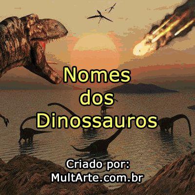 Nomes de Dinossauros