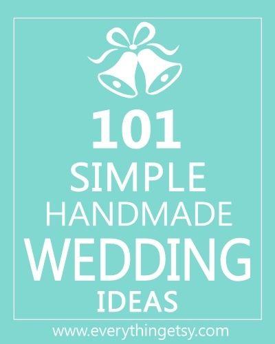 DIY wedding ideas wedding