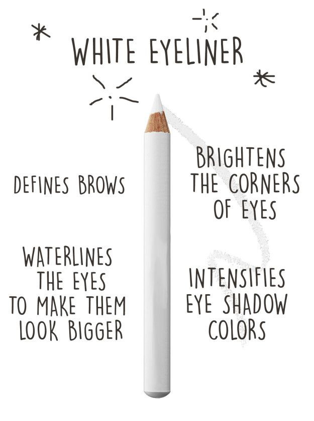 If you only want one thing thatll upgrade your makeup, invest in white eyeliner. Beauty & Personal Care : http://amzn.to/2irNRWU