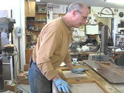 Repairing a Victorian Drawer Runner - Thomas Johnson Antique Furniture Restoration - YouTube