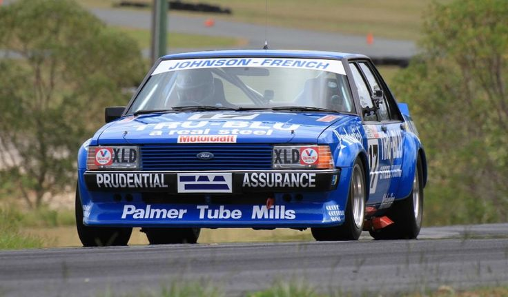 The XD Ford Falcon of Dick Johnson and John French.