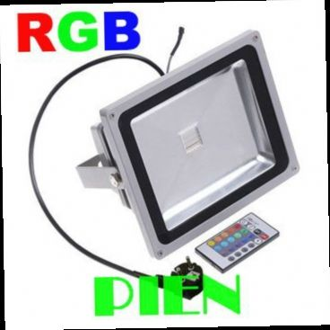 512.00$  Buy now - http://alieny.worldwells.pw/go.php?t=551585717 - 50 Watt focos led exterior rgb 50W Flood light LED Outdoor Lighting Projector Bridge spotlights 220V 110V by DHL 10pcs/lot