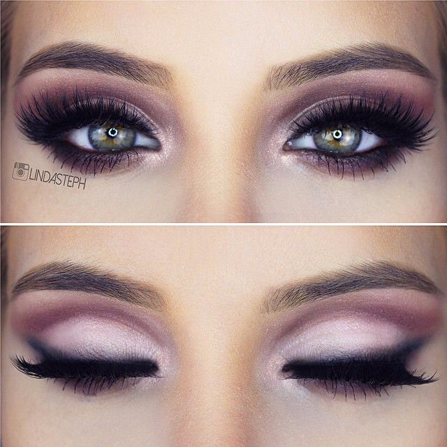 How to do good makeup for brown eyes