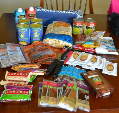 checklist for grab-and-go emergency evacuation bags - not a bad idea to have handy