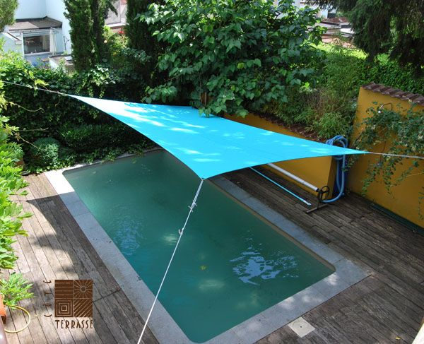 Voile Terrasse Rectangulaire : 17 Best images about [ARCHI] VOILES d u0026#39;ombrage PARASOLS on