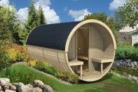 Barelová sauna 400 s elektrickými kamny