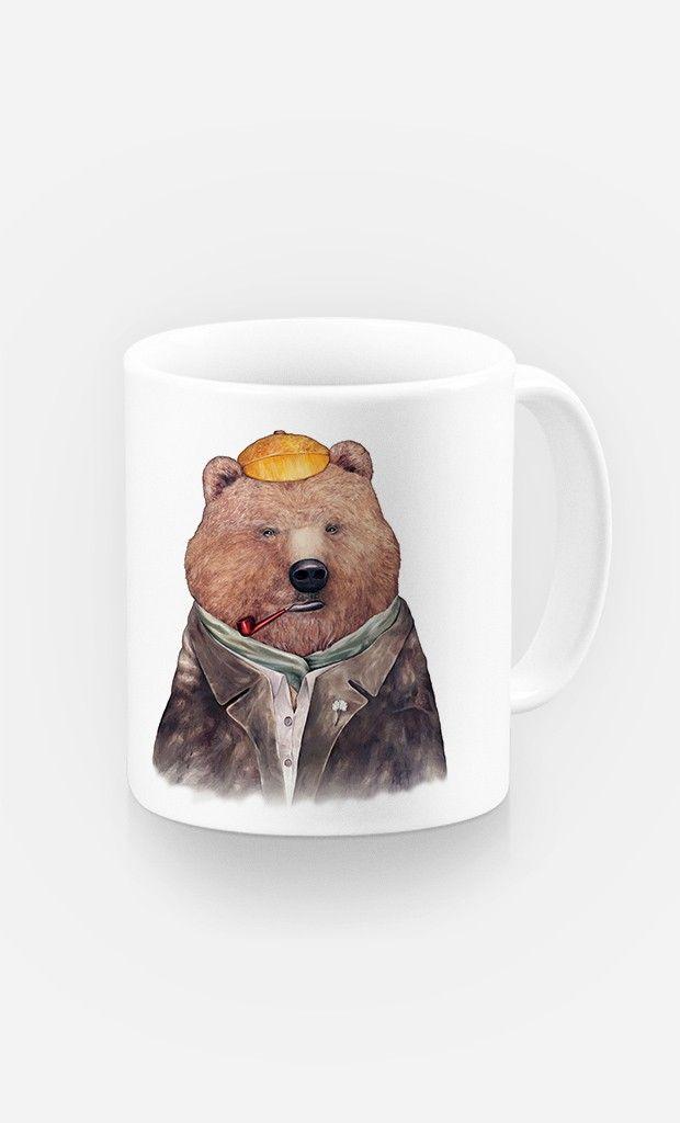 Mug Brown Bear par Animal Crew - Wooop.fr