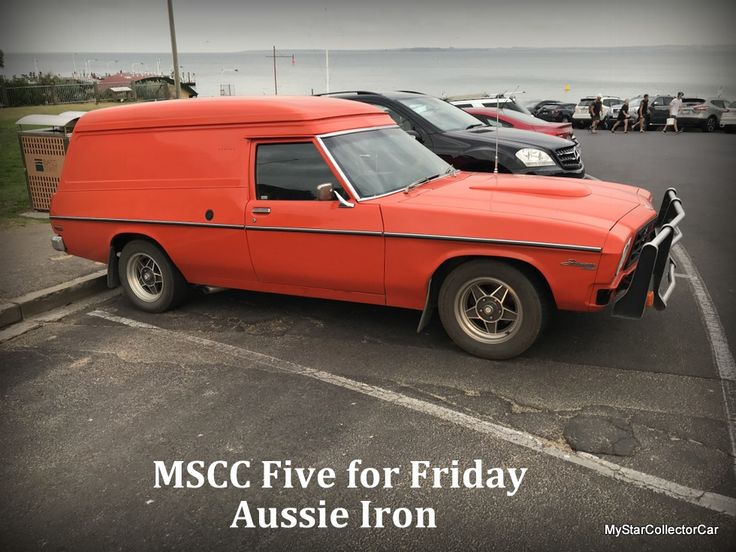 MSCC February 23 Five for Friday--this one is pretty cool. Take a look at 5 classic rides from the Land Down Under: http://mystarcollectorcar.com/five-very-cool-aussie-rides/ #classicAustralianiron