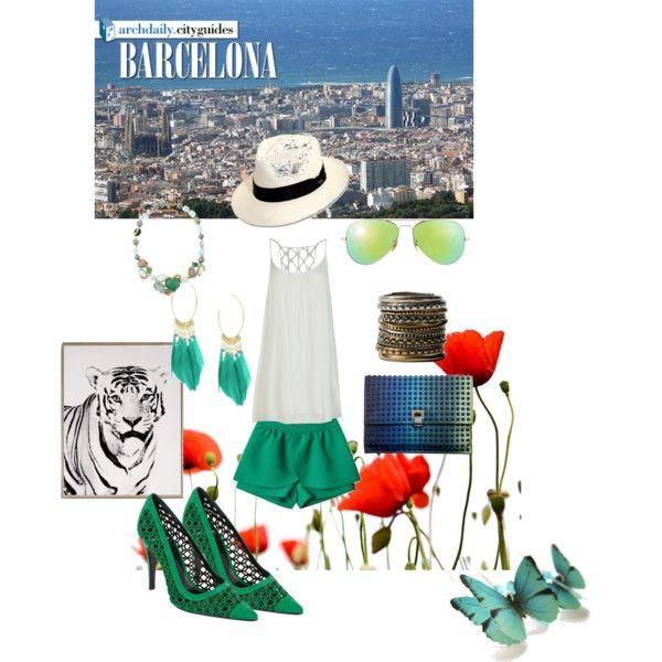 """I'm in Barcelona"" by nikita-17 on Polyvore"