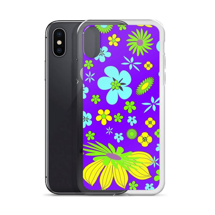 Excited to share the latest addition to my #etsy shop: Purple Flowers iPhone X Case   Repetitive Pattern iPhone case   Colorful iPhone 6 case   Trendy iPhone 7 case   Geometry iPhone 8 case   TPU http://etsy.me/2op0rWR #accessories #case #cellphone #iphonexcase #repeti