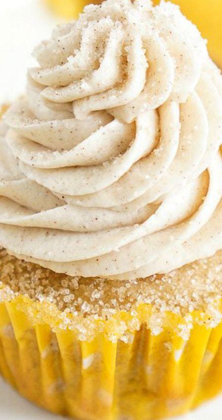 Snickerdoodle Cupcakes ~ Sie sind alles, was Sie an dem klassischen Kek …