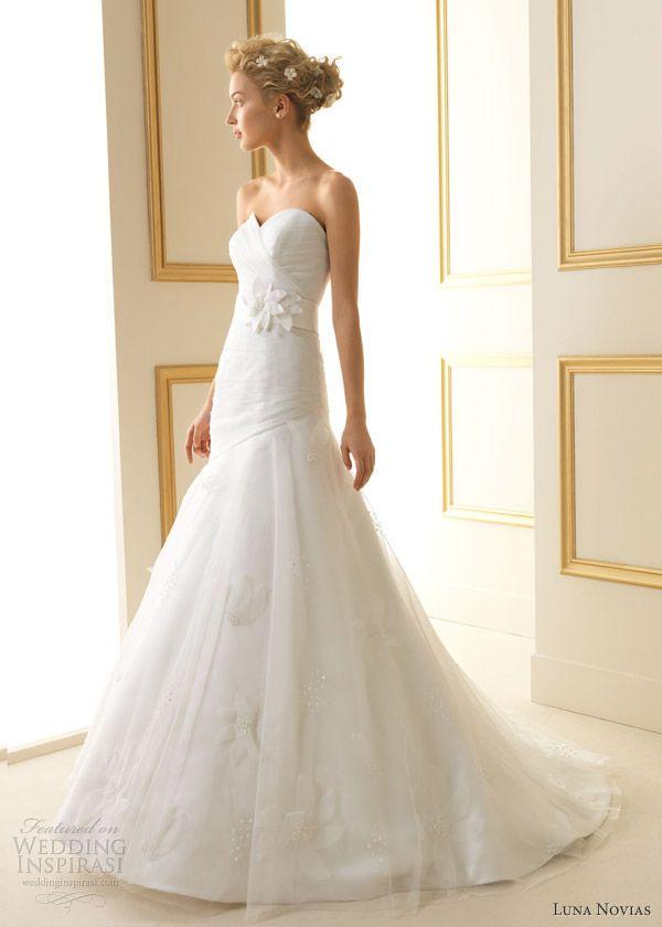 Luna Novias 2013 Wedding Dresses