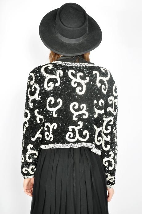 Vintage Style Clothes Australia ~ Vintage Sequin Jacket #vintage #fashion #vintagefashion #