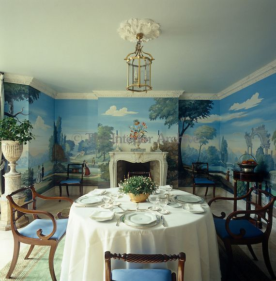 1000+ Ideas About Dining Room Wallpaper On Pinterest