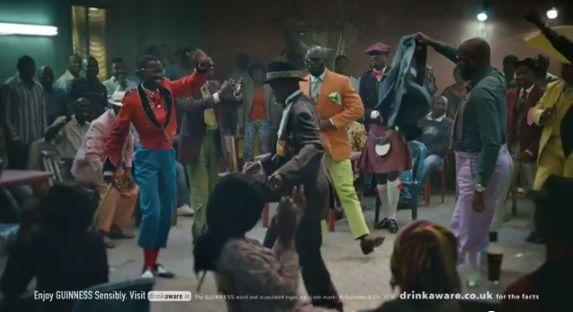 Les sapeurs congolais mis à l'honneur dans la nouvelle pub Guiness